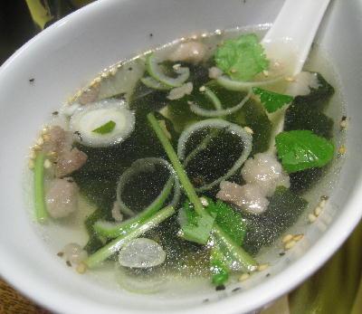 ビビンパのスープ@風林