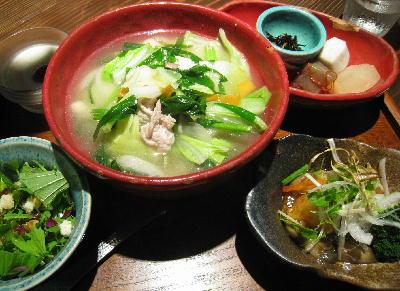 中華麺ランチ@ぼんじゅあん