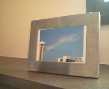 虹の写真@カフェ・アルコイリス
