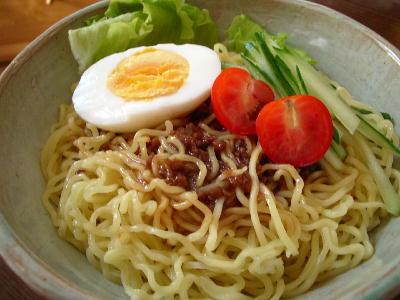 ジャージャー麺@軍司麺業