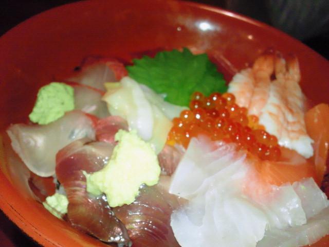 海鮮丼も!!@つくば