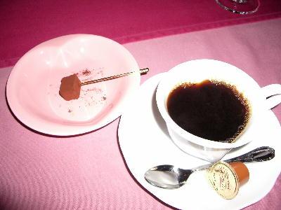 コーヒーと生チョコ@プライムステーキリブ