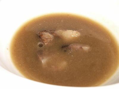 牛テールとポルチーニのスープ@プライムステーキリブ