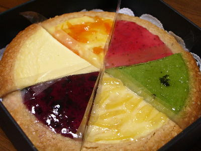 チーズケーキ6種@MITSUKO