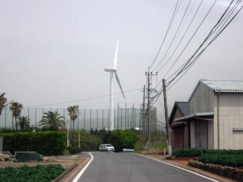 愛野の風力発電