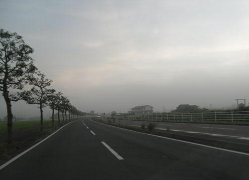 早朝の佐賀の景色