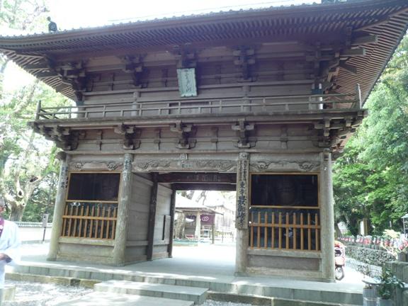なんと45万9845㎡もの広大な敷地をもっている最御崎寺