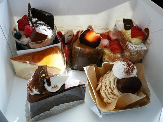 香川じゃ有名なルーヴのケーキ。