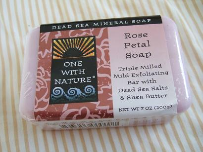 one with nature soap