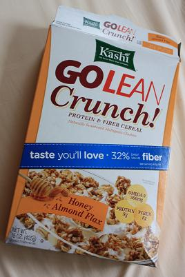 Kashi  GoLean Honey Almond Flax1