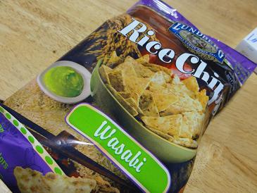 Lundberg, Rice Chips, Wasabi, 6 oz (170 g)