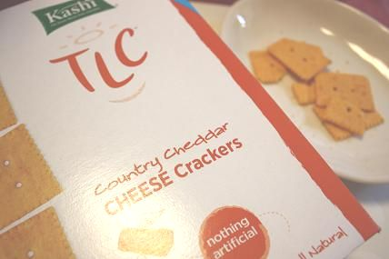 Kashi, TLC, All Natural Cheese Snack Crackers, Country Cheddar, 8 oz (227 g)