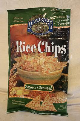 Lundberg, Rice Chips, Sesame & Seaweed Chips, 6 oz (170 g)2