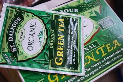 St. Dalfour, Original Green Tea, Organic, 25 Tea Bags, 1.75 oz (50 g)