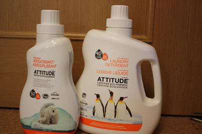 Attitude, Laundry Detergent, Essential Oils Ylang Ylang & Tangerine, 60.8 fl oz (1.8 L)