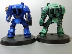 スペースマリーン(青と緑)02
