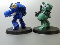 スペースマリーン(青と緑)03
