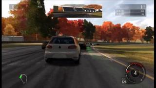 秋のレース場