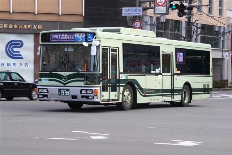 京都市バス 京都200か1999 日デPDG-RA273MAN
