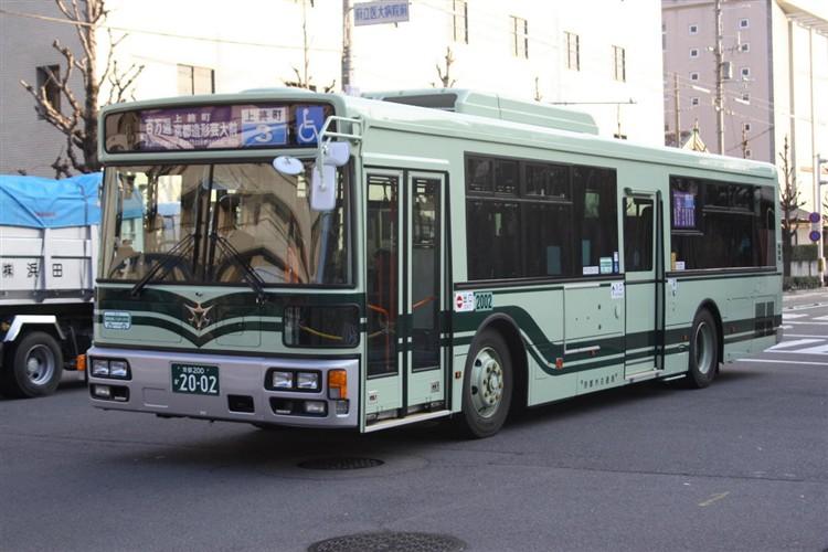 京都市バス 京都200か2002 日デPDG-RA273MAN