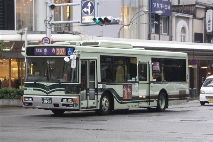 京都市バス 京都200か2005 日デPDG-RA273MAN