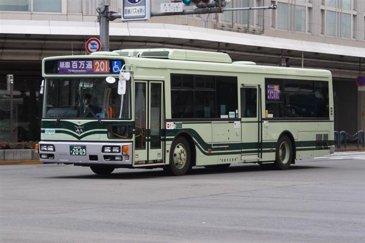 京都市バス 京都200か2009 日デPDG-RA273MAN