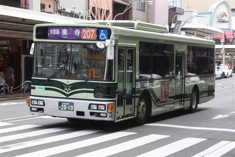 京都市バス 京都200か2010 日デPDG-RA273MAN