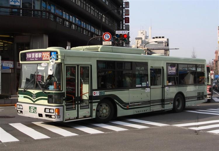 京都市バス 京都200か2013 日デPDG-RA273MAN