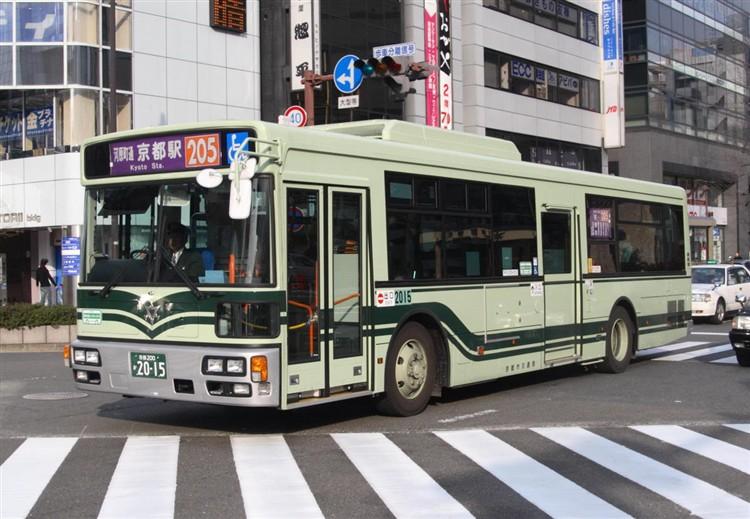 京都市バス 京都200か2015 日デPDG-RA273MAN