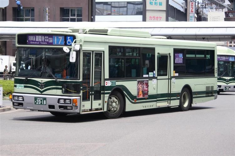 京都市バス 京都200か2018 日デPDG-RA273MAN