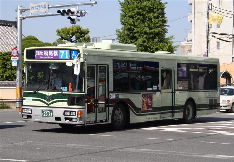 京都市バス 京都200か2028 日デPDG-RA273MAN