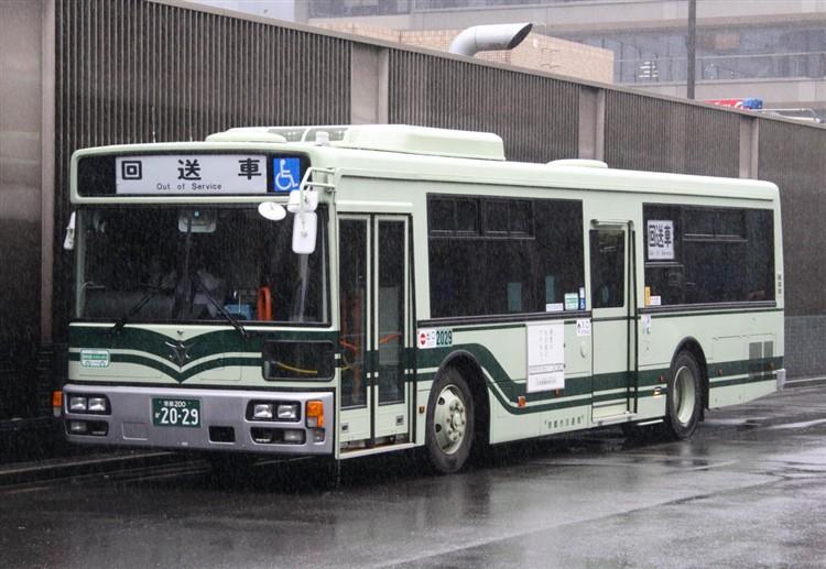 京都市バス 京都200か2029 日デPDG-RA273MAN