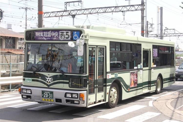 京都市バス 京都200か2031 日デPDG-RA273MAN