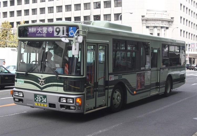 京都市バス 京都200か2034 日デPDG-RA273MAN