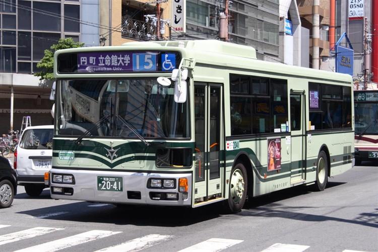 京都市バス 京都200か2041 日デPDG-RA273MAN