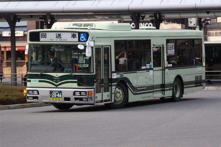 京都市バス 京都200か2046 日デPDG-RA273MAN