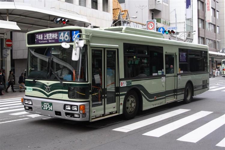 京都市バス 京都200か2054 日デPDG-RA273MAN