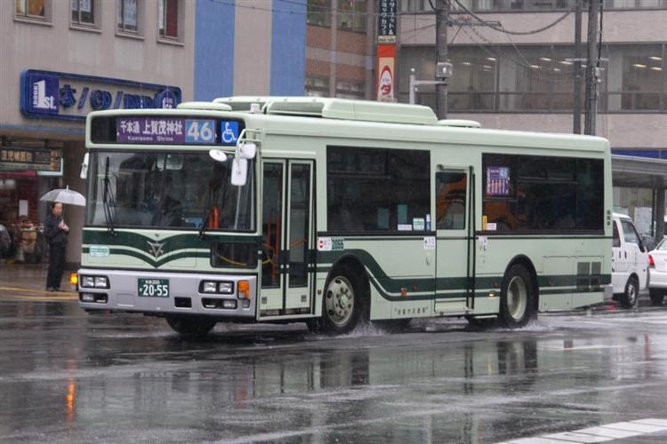 京都市バス 京都200か2055 日デPDG-RA273MAN
