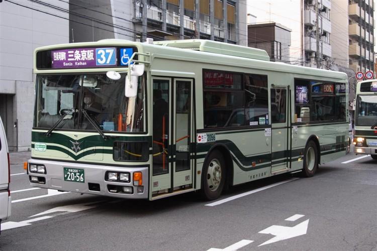 京都市バス 京都200か2056 日デPDG-RA273MAN