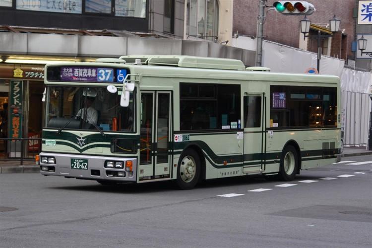京都市バス 京都200か2062 日デPDG-RA273MAN