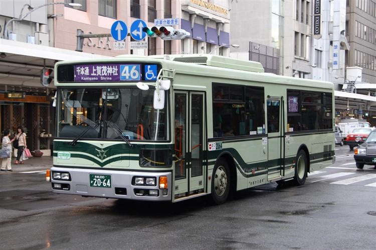 京都市バス 京都200か2064 日デPDG-RA273MAN