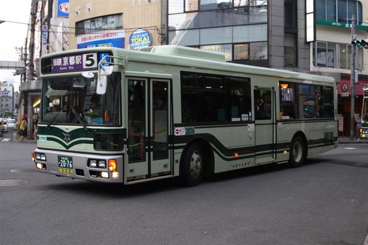京都市バス 京都200か2076 日デPDG-RA273MAN