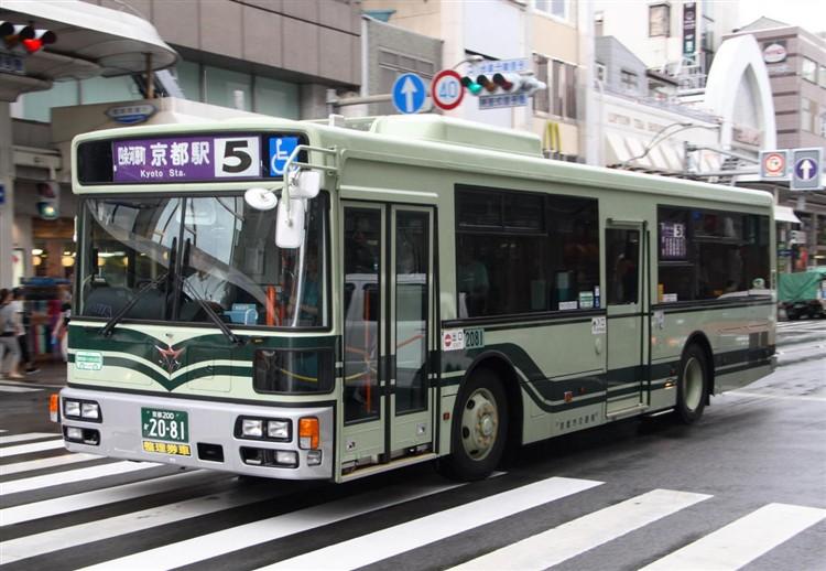 京都市バス 京都200か2081 日デPDG-RA273KAN