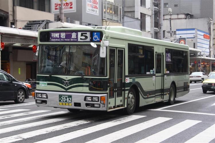 京都市バス 京都200か2082 日デPDG-RA273KAN