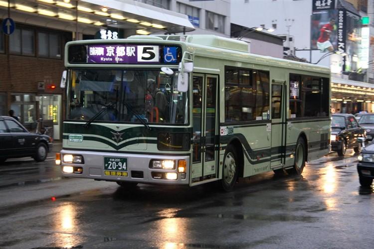 京都市バス 京都200か2094 日デPDG-RA273MAN