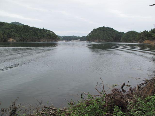 西舞根の入り江