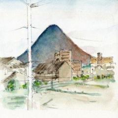 讃岐富士の色