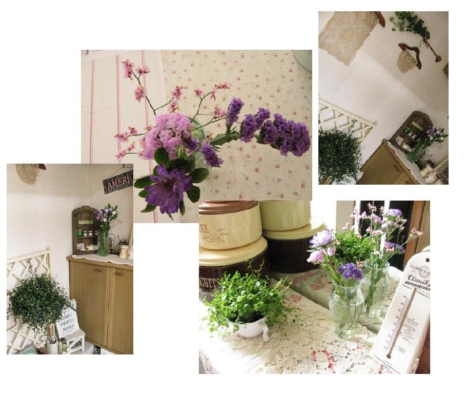 20110619お花#10046;薄紫系でまとめて♪