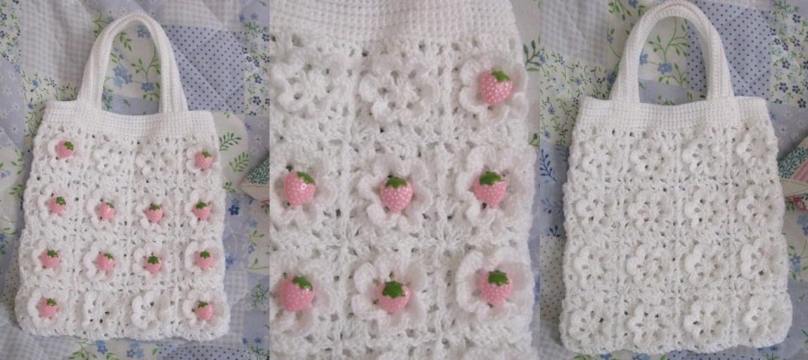 201106苺の花畑Bag
