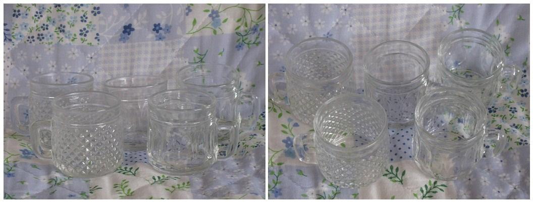 20110707ミニグラス5つ